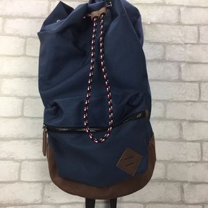 Old Navy Backpack Blue & Brown